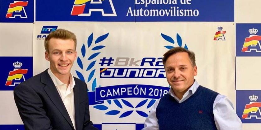 El Rallye Team Spain, en el Mundial y el Europeo Junior con Jan Solans y Efrén Llarena